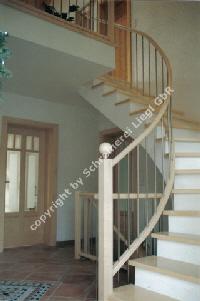 1 4 gewendelte treppe. Black Bedroom Furniture Sets. Home Design Ideas