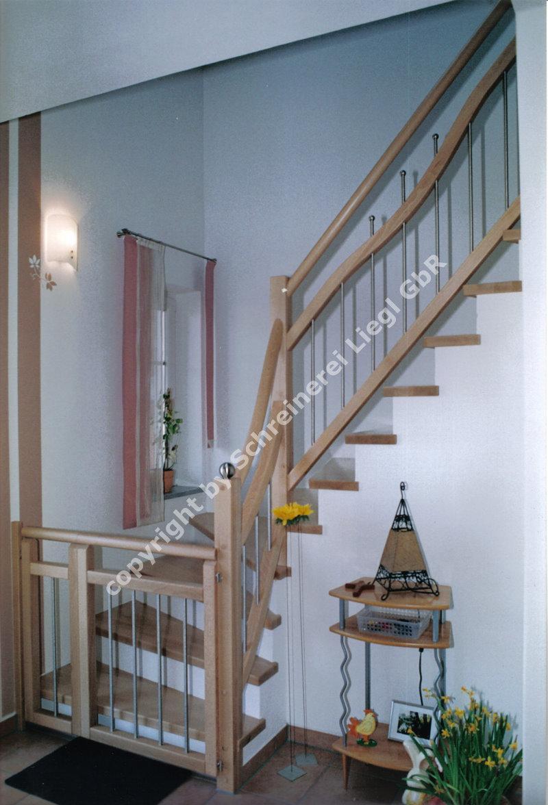 1 4 gewendelte treppe 6. Black Bedroom Furniture Sets. Home Design Ideas